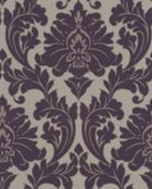 Graham & Brown Plum majestic wallpaper