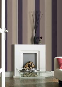 Graham & Brown Plum poise spice wallpaper