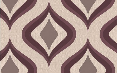 Graham & Brown Plum trippy wallpaper
