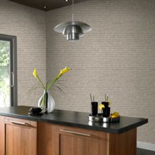 Graham & Brown Grey Brick Wallpaper