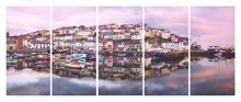 Brixham harbour wall art