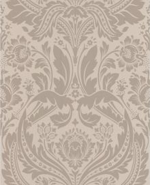 Cream taupe desire wallpaper