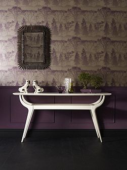 Purple damson mirage wallpaper