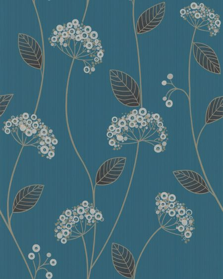 Graham & Brown Teal claire wallpaper