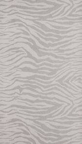 Graham & Brown Silver Glitter Zebra Wallpaper