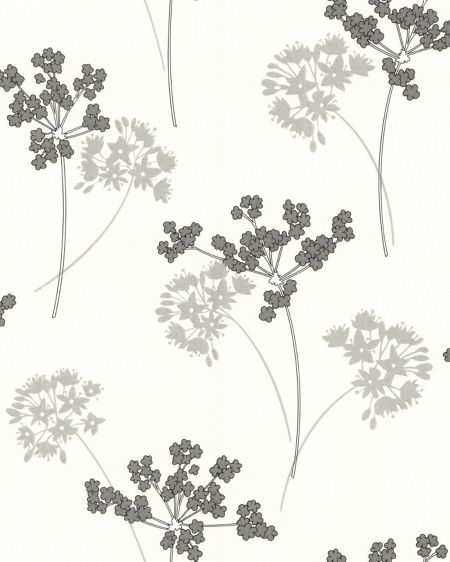 Graham & Brown Silver milly wallpaper