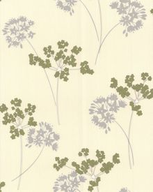 Graham & Brown Pale green apple milly wallpaper