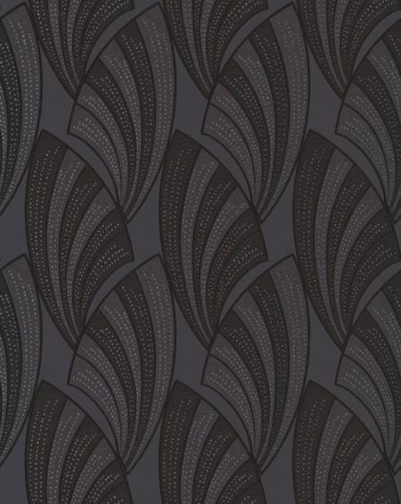 Graham & Brown Black novella wallpaper