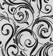 Graham & Brown Black charcoal swirly wurly cheeky wallpaper