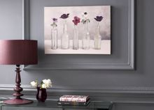Floral row wall art