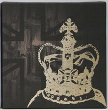 The coronation wall art by Kelly Hoppen