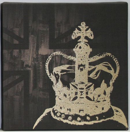 Graham & Brown The coronation wall art by Kelly Hoppen
