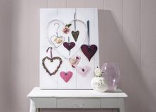 Heart compendium wall art