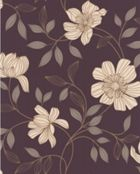 Graham & Brown Purple amethyst camille wallpaper