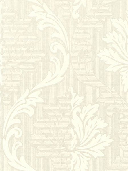 Graham & Brown White/mica splendour wallpaper