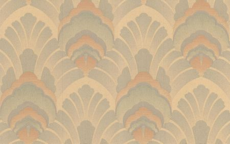 Graham & Brown Peach/green original wallpaper