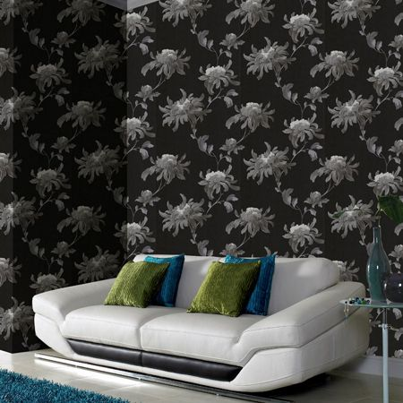 Graham & Brown Black/grey fabulous wallpaper