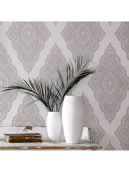 graham brown white pearl silver jewel wallpaper house