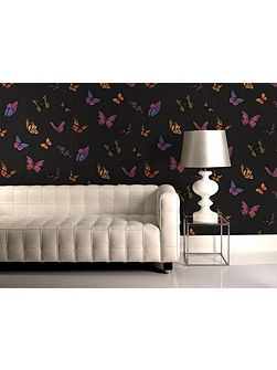 Black flutter by wallpaper