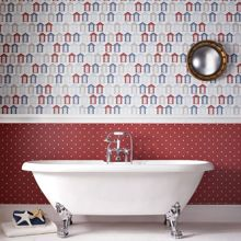 Graham & Brown Red beside the seaside wallpaper