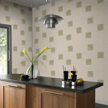 Graham & Brown Green parsley wallpaper