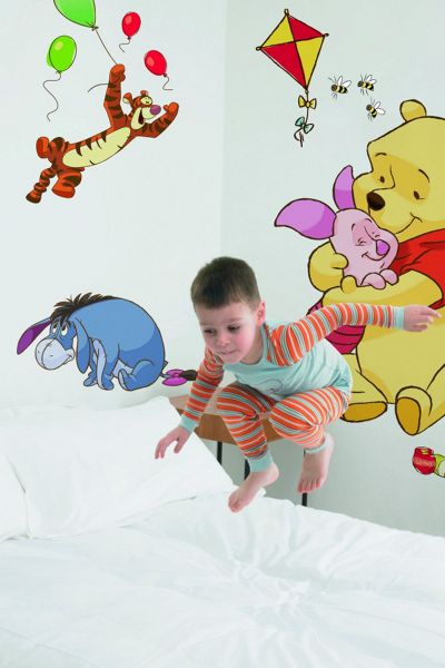 Graham & Brown Pooh bfd maxi sticker wall art