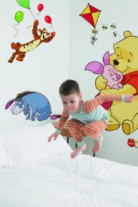 Pooh bfd maxi sticker wall art