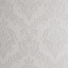 Graham & Brown Ivory shimmer damask wallpaper