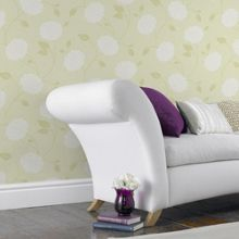 Graham & Brown Lemon Bronte Floral Wallpaper