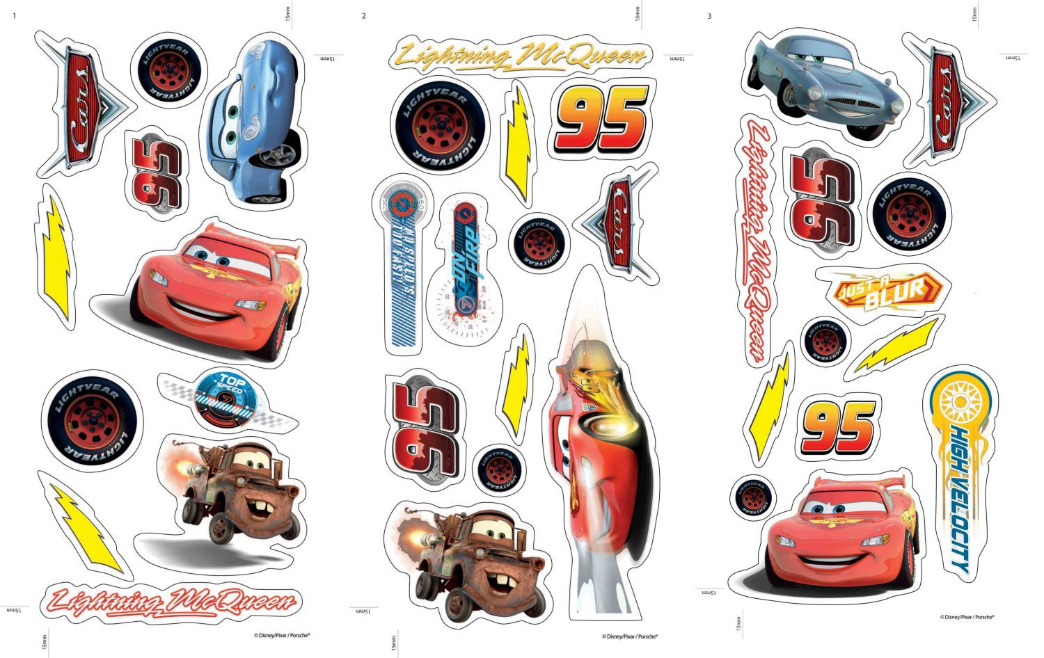 Cars Small Wall Sticker