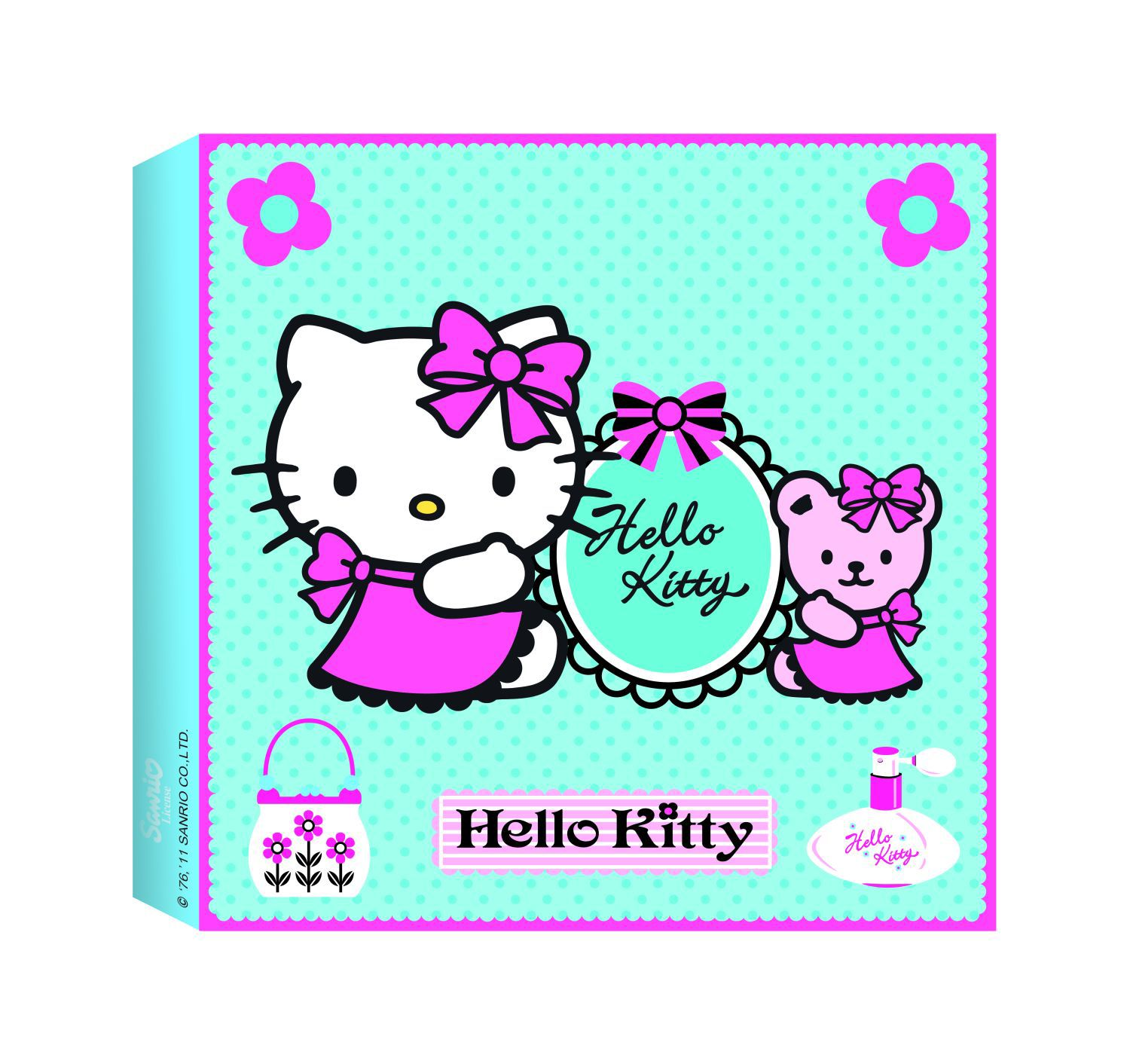 Hello Kitty Printed Canvas (30x30cm)