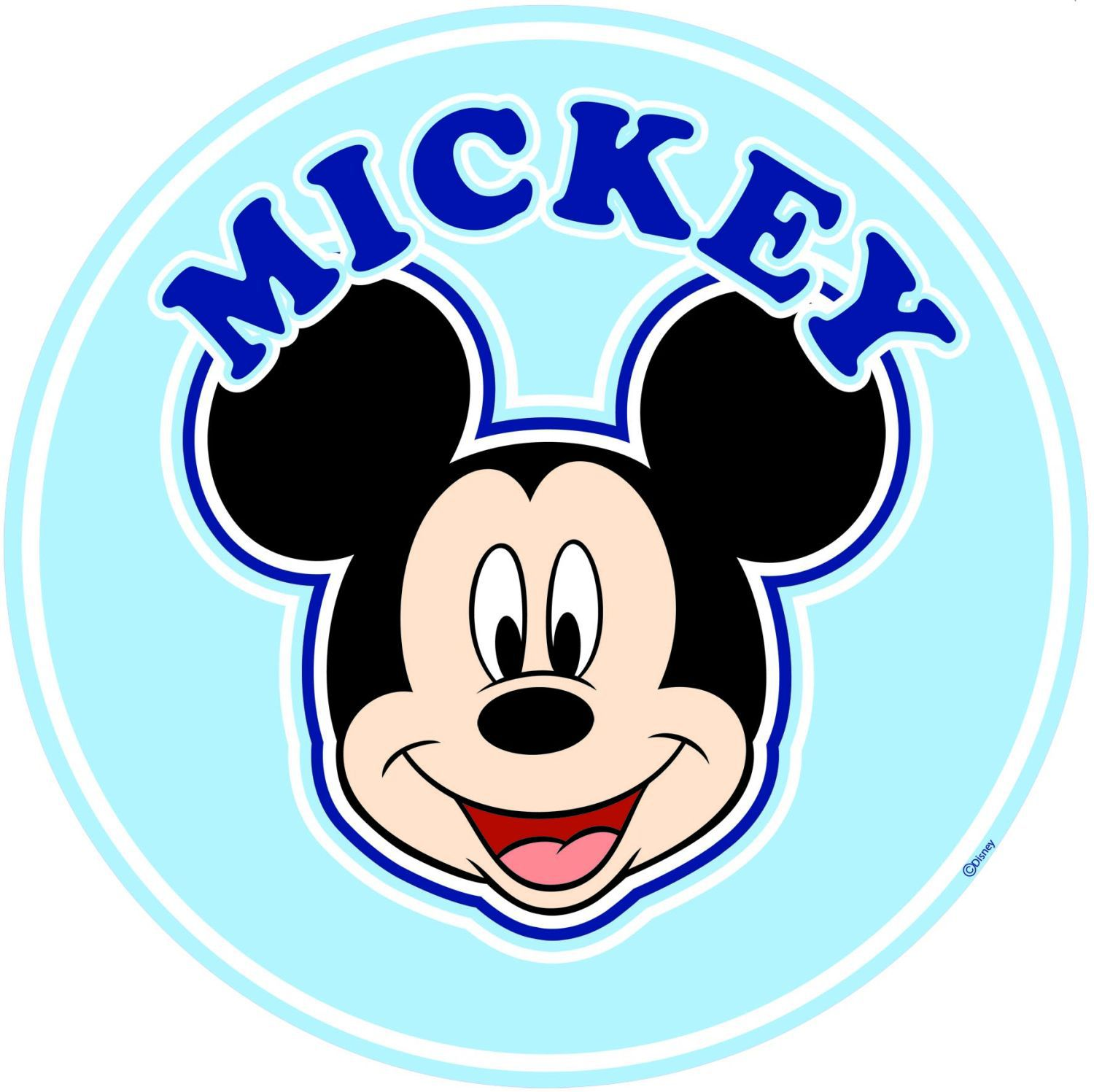Mickey Over the Bed Sticker