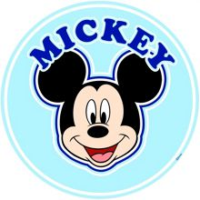 Graham & Brown Mickey Over the Bed Sticker