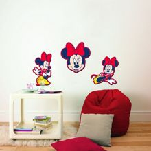 Graham & Brown Minnie Mouse Foam Elements 3pcs