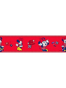 Minnie Mouse Medium Border Roll
