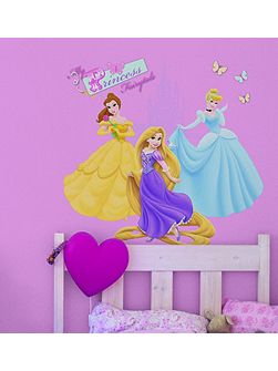 Princess Over the Bed Sticker