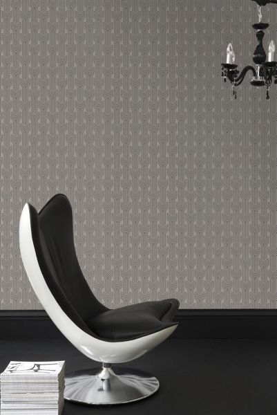 Graham & Brown Taupe easy cinema wallpaper
