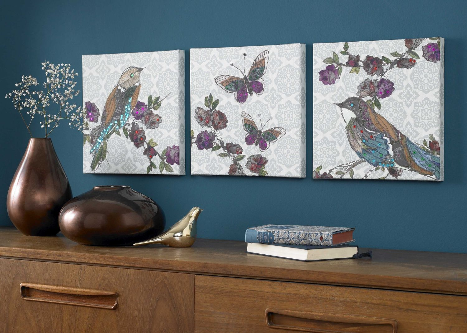 Monsoon Bird wall art