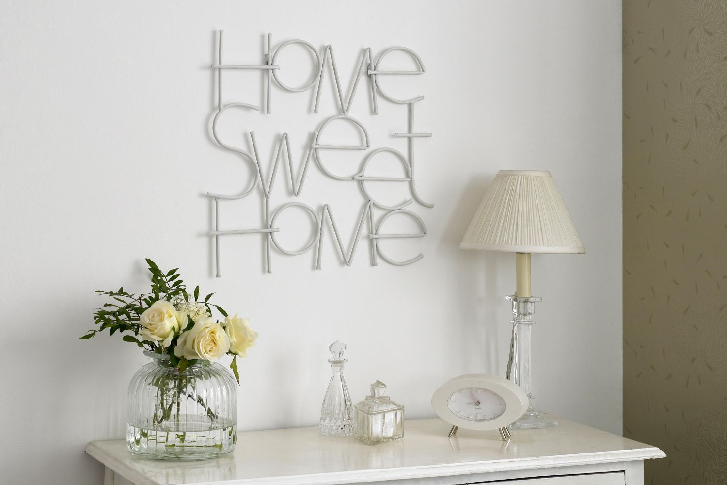 Sweet home wall art