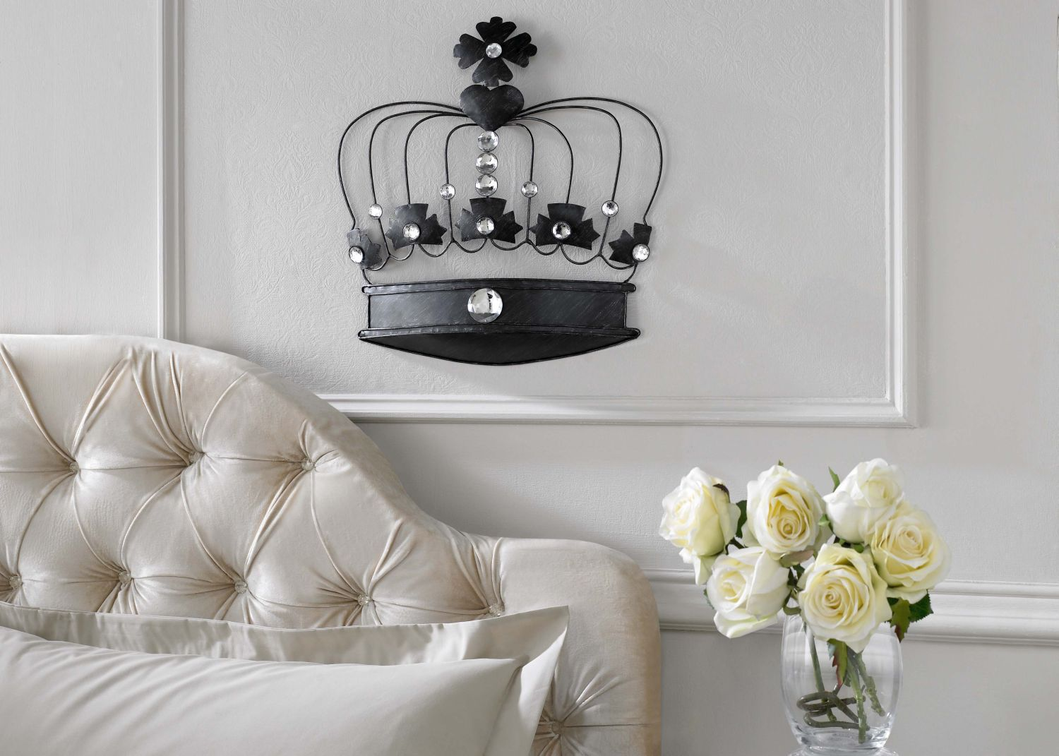 Crown jewels wall art