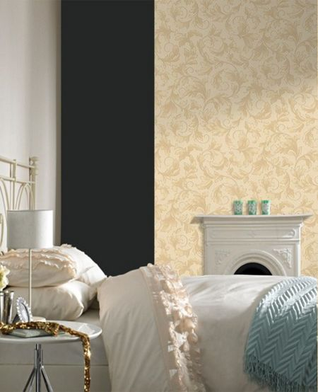 Graham & Brown Gold charmed wallpaper