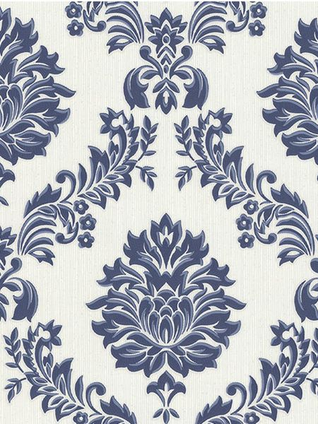 Graham & Brown Blue/white castello wallpaper