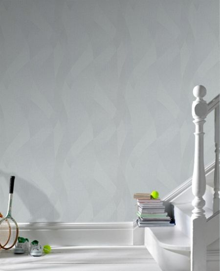 Graham & Brown Grey interlace wallpaper