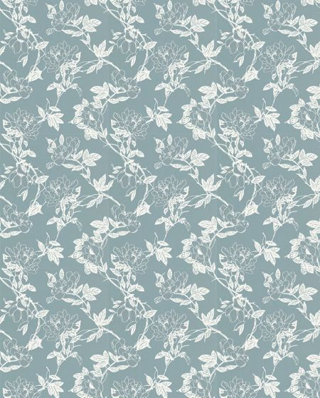 Graham & Brown Light blue duck egg jiao wallpaper