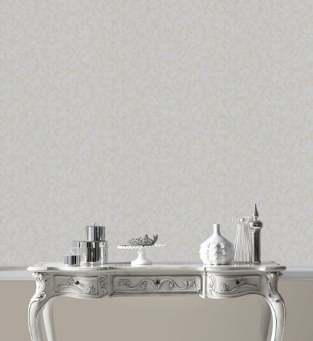 Graham & Brown Silver enchantment wallpaper