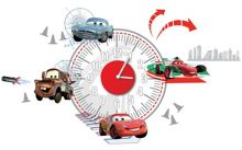 Graham & Brown Cars Sticker Clock