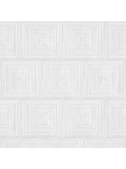 Grey Labyrinthe Geometric Tile Wallpaper