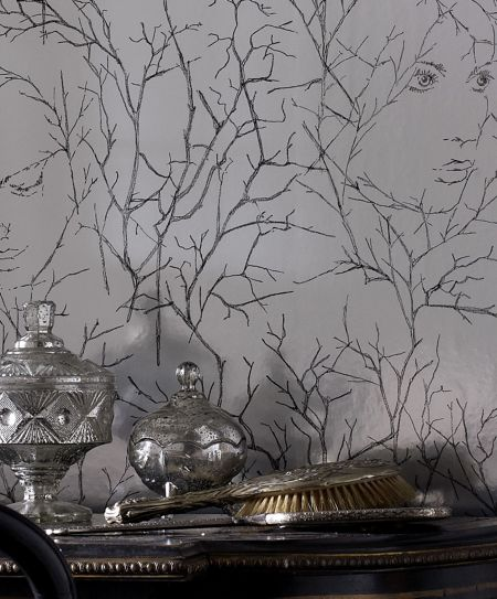 Graham & Brown Grey dawn goddess wallpaper
