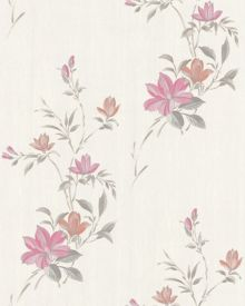 Graham & Brown Pink reed wallpaper