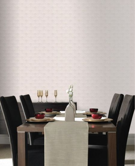Graham & Brown Cream ennis wallpaper